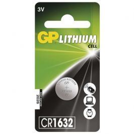 Lithiová knoflíková baterie GP CR1632, 1 ks v blistru