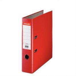 ESSELTE Pákový pořadač Economy, ochranné spodní kování, červená, 75 mm, A4, PP/karton,