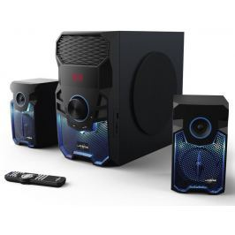 HAMA uRage gamingový sound systém SoundZ Revolution/ 2.1/ 100W/ čtečka SD karet/