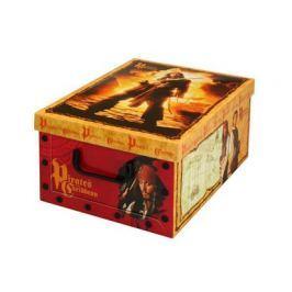 VETRO-PLUS Krabice úložná Disney 32 x 40 x 17 cm, piráti