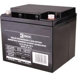 EMOS Bezúdržbový olověný akumulátor 12V 40Ah M6