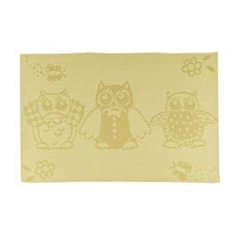 BANQUET Prostírání OWLS Yellow 45 x 30 cm