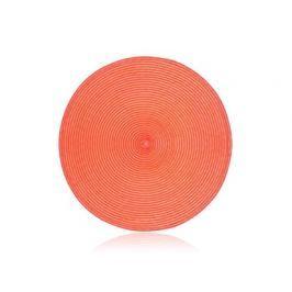 BANQUET Prostírání kruhové PP 38 cm, peach
