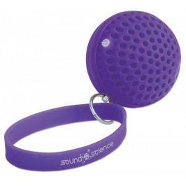 MANHATTAN Sound Science Atom, bezdrátový Bluetooth reproduktor, fialový