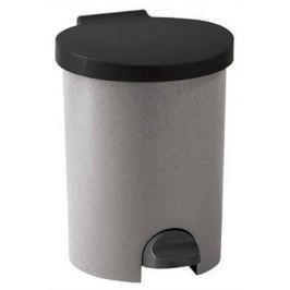 CURVER Odpadkový koš, pedálový, plastový, 15 l, , šedý
