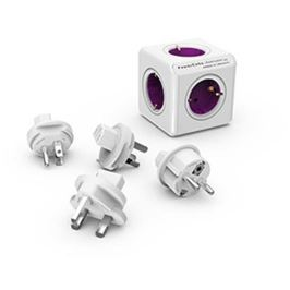 ALLOCACOC Rozbočovač s cestovními koncovkami, PowerCube ReWirable + 4x travel plug, ALLOCA