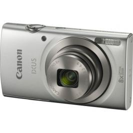 "Canon IXUS 185 SILVER - 20MP, 8x zoom, 28-224mm, 2,7"", HD video"