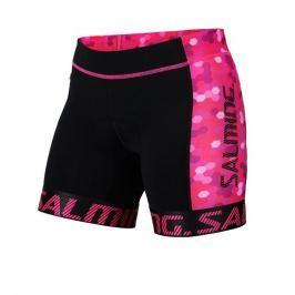 Salming Dámské kraťase  Triathlon Shorts Wmn, M, Black/Pink