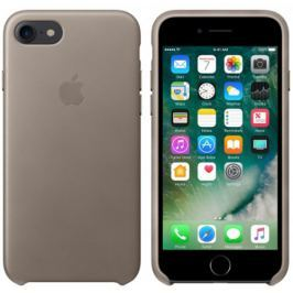 Apple iPhone 7 Leather Case - Taupe