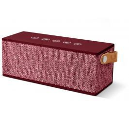 Fresh 'n Rebel FRESH ´N REBEL Rockbox Brick Fabriq Edition Bluetooth reproduktor, Ruby, rubínov