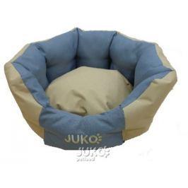 Pelíšek odolný JUKO koruna M:58x52x23cm-Béžová-13816