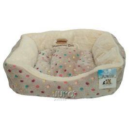 Pelíšek s puntíky Extra soft Bed XS 47cm-šedá-89024YF