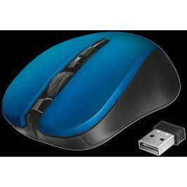 TRUST myš  Mydo Silent Click Wireless Mouse - blue (tichá myš)