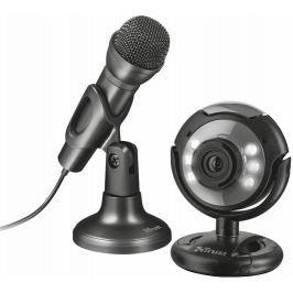 TRUST streaming set  webcam + microphone