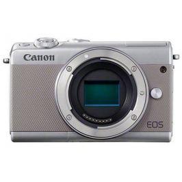 """Canon EOS M100 Body Grey, bezzrcadlovka, 24 MP, 3,0"""", WIFI"""