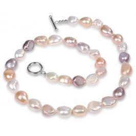 JwL Luxury Pearls Náhrdelník z pravých multibarevných perel JL0160