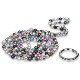 JwL Luxury Pearls Dlouhý náhrdelník z pravých barevných perel JL0182
