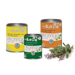 Moringa MIX Dárkové balení Moringa oleifera s heřmánkem 100 g + Moringa oleifera 180 kapslí