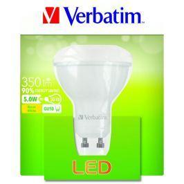 Verbatim LED žárovka , GU10 5W 350lm (50W), typ PAR16, 35°, teplá bílá