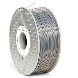 Verbatim PLA struna 1,75 mm pro 3D tiskárnu, 1kg, stříbrná