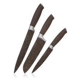 BANQUET Sada kuchyňských nožů  Premium Dark Brown