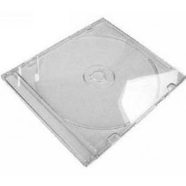 COVER IT box jewel + tray/ plastový obal na CD/ slim/ 5,2mm/ čirý/ 10pack