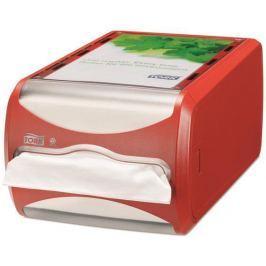 TORK Zásobník na ubrousky Xpressnap, červená, N4 systém, 14,5x19,1x30,7 mm,