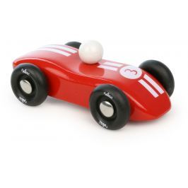 Vilac dřevěné závodní auto červené