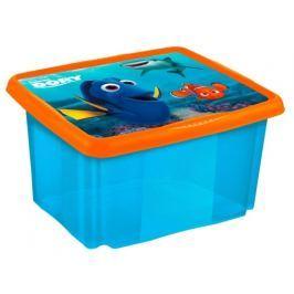 Keeeper Box na hračky Hledá se Dory 45 l - modrý