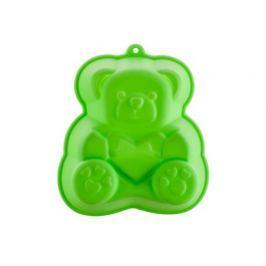 BANQUET Forma silikonová CULINARIA Green 14,2 x 12,3 x 3,5 cm, medvídek