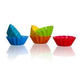 BANQUET Sada silikonových košíčků CULINARIA 5,3 cm, 6 ks, mix barev