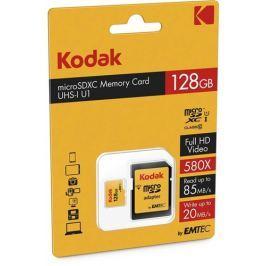 KODAK Paměťové karty  microSDXC 128GB Class10 U1 adap.