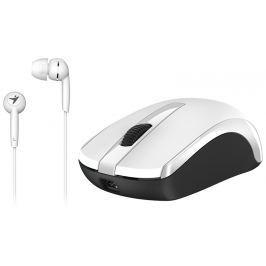 GENIUS Set myš a sluchátka  RS,MH-8100,White