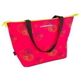Campingaz Chladicí taška SHOPPING COOLER 15L Pink daisy (chladicí účinek 10 hodin)