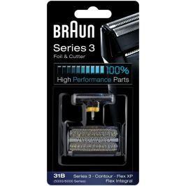 Braun fólie + břity 31B  Contur, Flex, Series 3