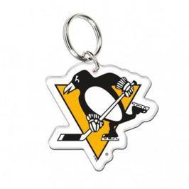 WinCraft Akrylová klíčenka premium NHL Pittsburgh Penguins