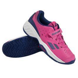 Babolat Juniorská tenisová obuv  Pulsion All Court Kid Pink/Blue, EUR 29.0 / UK 11.0 (BABOLAT)