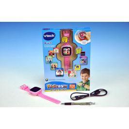 MENUG Kidizoom VTech Smart hodinky růžové s fotoaparátem a videokamerou a doplňky na b