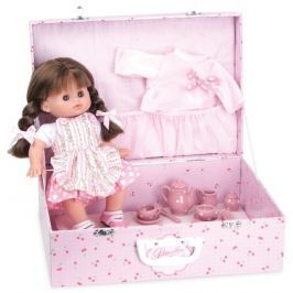 Petitcollin panenka v kufříku Petit Chou Caline 28 cm