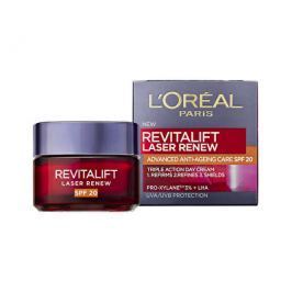 Loreal Paris Denní krém proti vráskám SPF 20 Revitalift Laser Renew (Advanced Anti-Ageing Care) 50 m