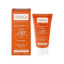 Uriage Opalovací krém na obličej bez parfemace SPF 50+ Bariésun (Very High Protection Cream) 50 ml