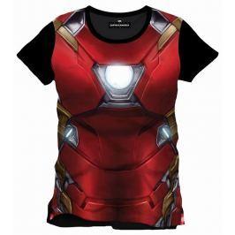 Captain America/ Iron-Man Chest,  Civil War, pánské tričko (Celopostisk) X