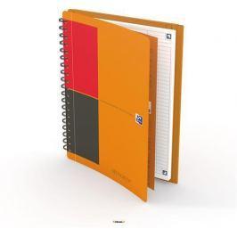 OXFORD Sešit International Meetingbook, oranžová, kroužková vazba, B5, linkovaný, 160