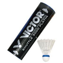 Victor Badmintonové košíčky  Platin 3000 (střední) - bílé, červený proužek (do 14°C)