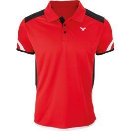 Victor Pánské funkční tričko  Polo 6727 Red, S
