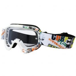 Motokrosové brýle junior W-TEC Benford s grafikou Barva barevná grafika