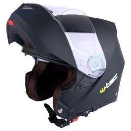 Výklopná moto helma W-TEC V270 Barva bílá, Velikost XS (54)