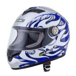 Moto helma W-TEC V105 Barva černo-zelená, Velikost XXS (51-52)