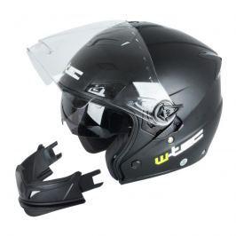 Moto helma W-TEC NK-850 Barva matně černá, Velikost XL (61-62)