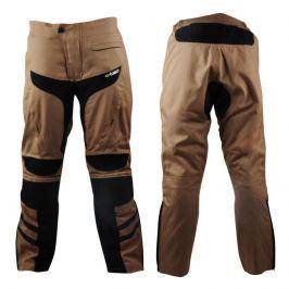 Pánské moto kalhoty W-TEC Kalahari Barva Desert Sand, Velikost M
